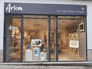 Devanture de la boutique Artem à Nantes