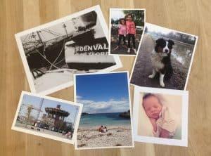 6 exemples de photos numériques bateaux enfants chien carroussel grue nantes plage bébé
