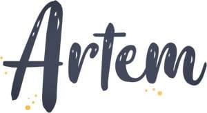 logo de la boutique Artem à Nantes
