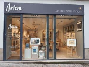 Devanture d'Artem à Nantes